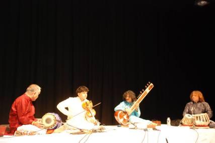 With Ganesh Rajagopalan, Trichi sankar , and Hindole Majumdar.