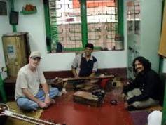 with Barun Roy.