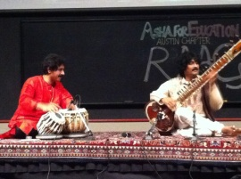 Asha Austin with Gourisankar (tabla)