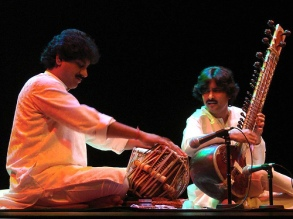 With Gourisankar (Tabla) in France