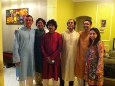 Dallas ICMA with Arup Chattophadhya (Tabla), Mihir Patel, and Partho Sarodi (Sarod)