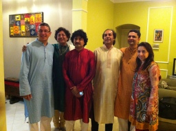 Dallas ICMA with Arup Chattophadhya (Tabla), Mihir Patel, and Partho Sarodi (Sarod)