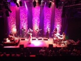 With Gypsy All Stars and Salar Nader (Tabla) at One Word Theater, Austin