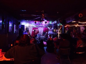 Sitar Ji at the Sahara Lounge.