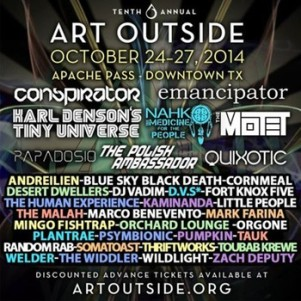 Art Outside October 25th